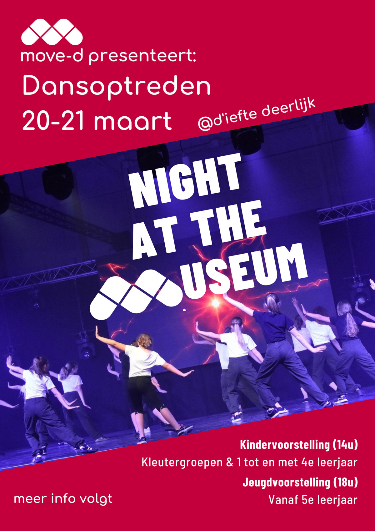 Night-At-The-Museum Move-D optreden